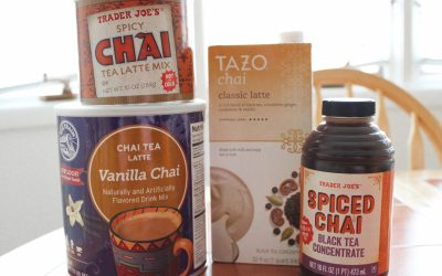 Chai Tea Lattes at Home