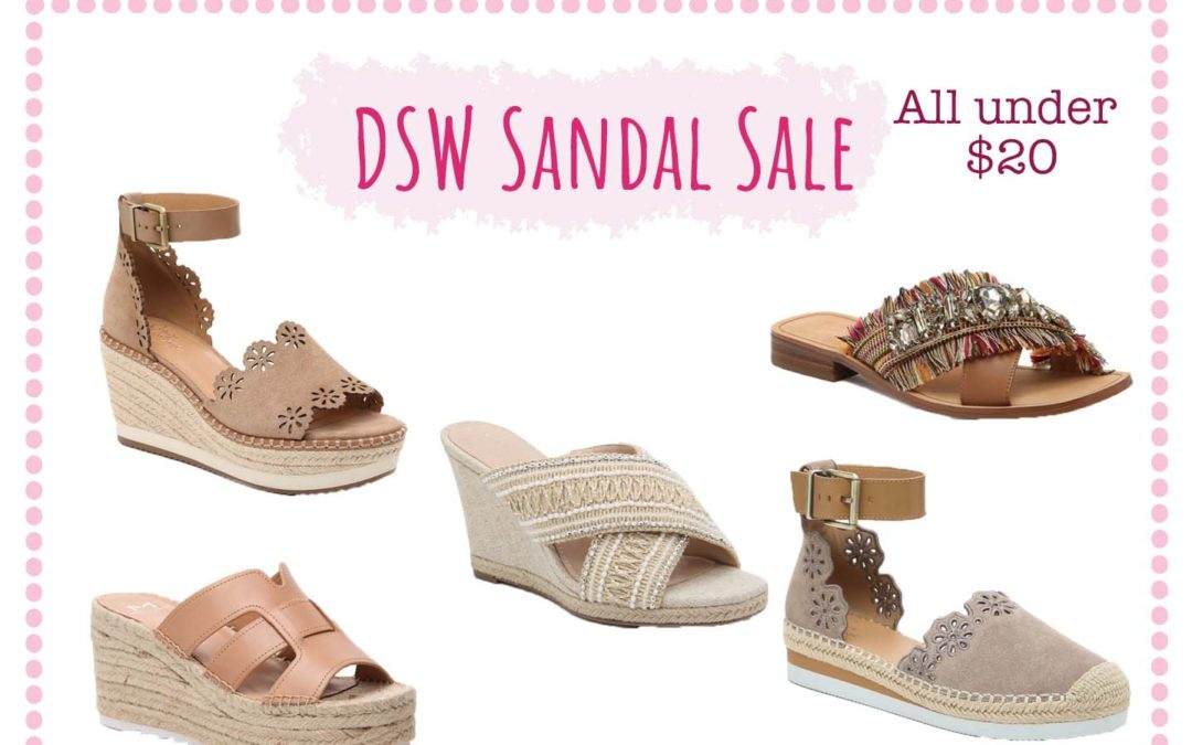 DSW Sandal Sale Finds