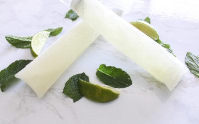 Cocktail Ice Pops: Mojito