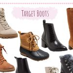 Boots from Target