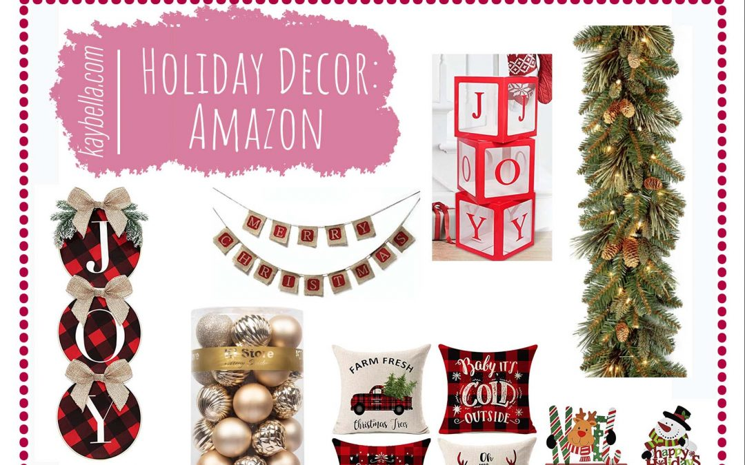 Holiday Decor from Amazon