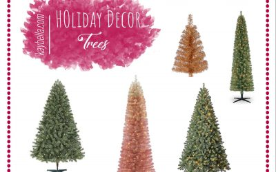 Holiday Decor: Trees